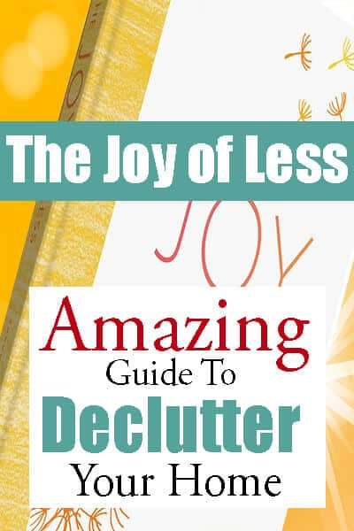 Joy of Less Book Review – Best Organizational Book