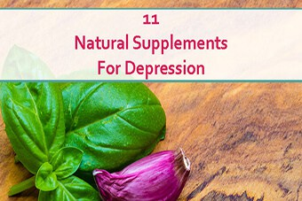 Natural supplements for depression