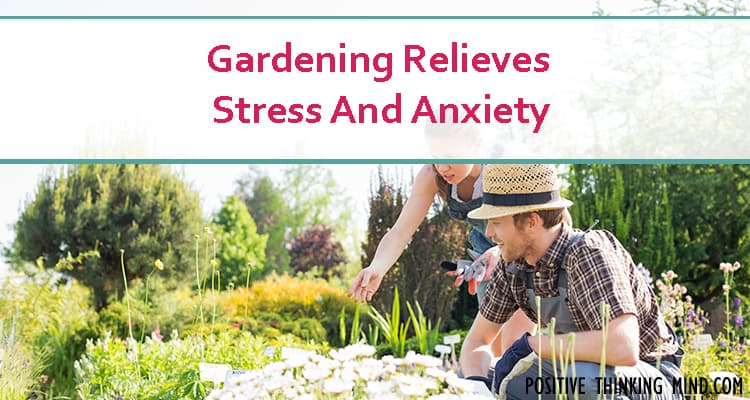gardening relieves stress and anxiety