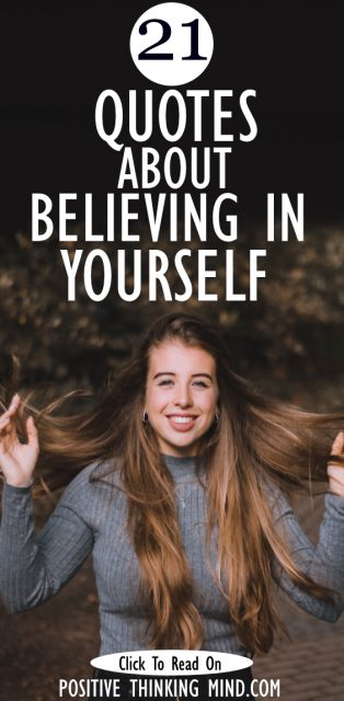 Quotes about believing in yourself