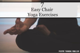 Easy chair yoga exercises
