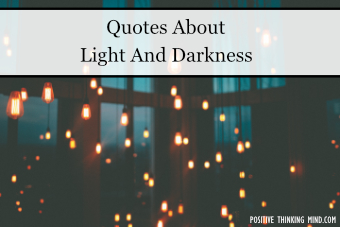 quotes about light and darkness