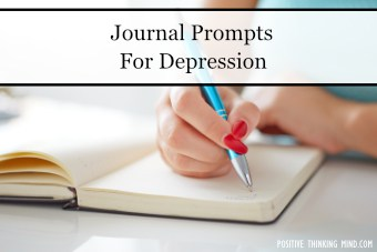 Journal prompts for depression