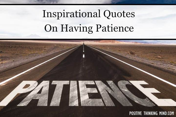 Quote On Patience